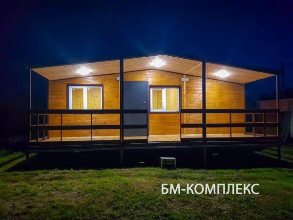 готовый дом на дачу