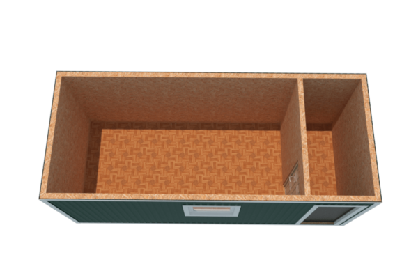вагончик строительный с тамбуром