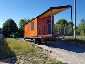 доставка модульного дома для дачи