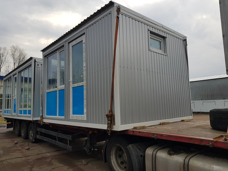 доставка модульного здания по Украине